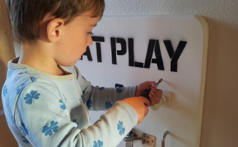 Color Changing Activity Board for Toddlers